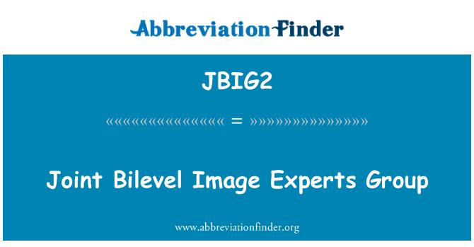 JBIG2: Joint Bilevel Image Experts Group