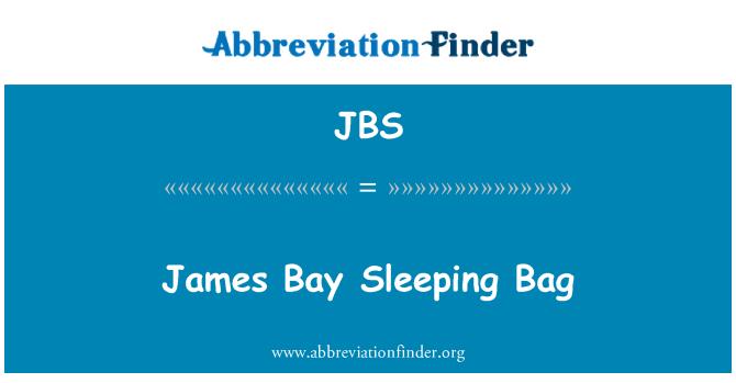 JBS: Saco de dormir James Bay