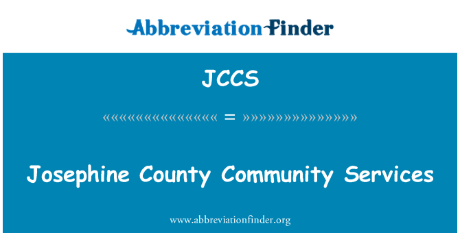JCCS: Josephine County Community Services
