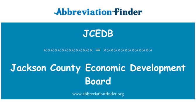 JCEDB: Jackson County Economic Development Board