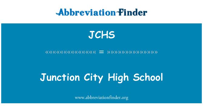 JCHS: Kavşak şehir lise