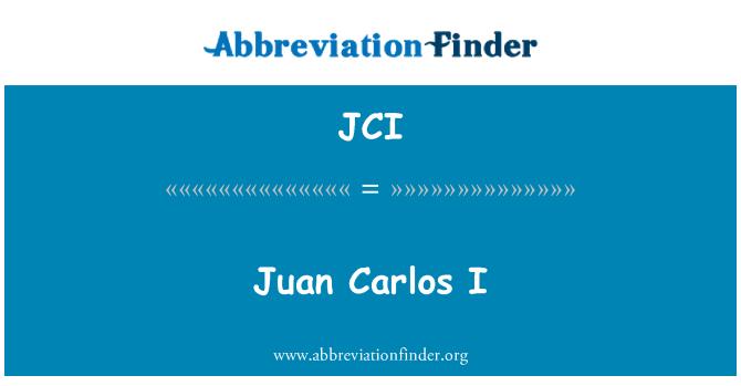 JCI: Juan Carlos I