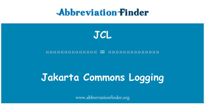 JCL: Jakarta Commons Logging