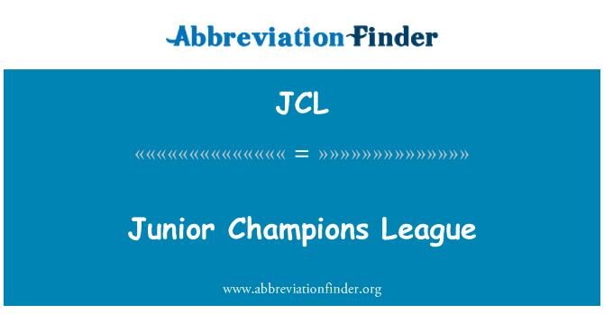 JCL: Liga de campeones Junior
