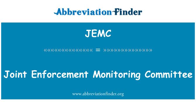 JEMC: Comité de seguimiento de la aplicación conjunta