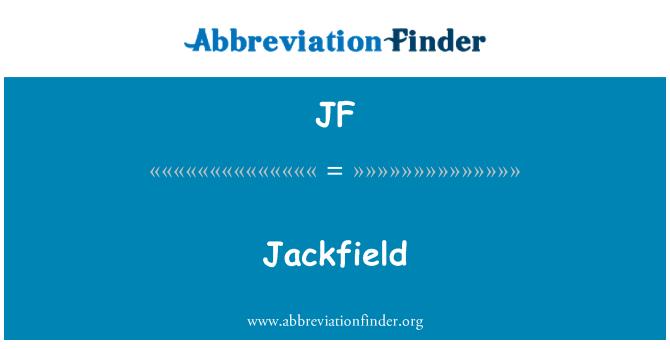 JF: Jackfield