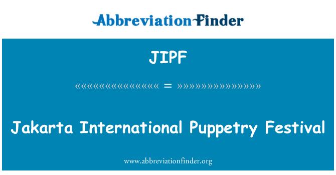 JIPF: Jakarta International Puppetry Festival