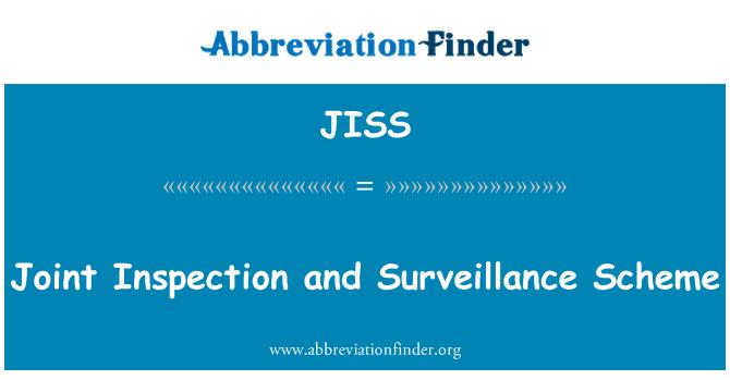 JISS: Joint Inspection and Surveillance Scheme