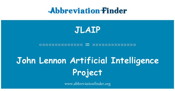 JLAIP: John Lennon Artificial Intelligence Project