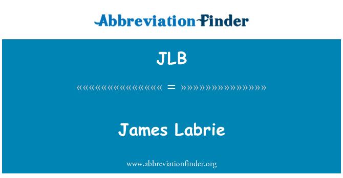 JLB: James Labrie