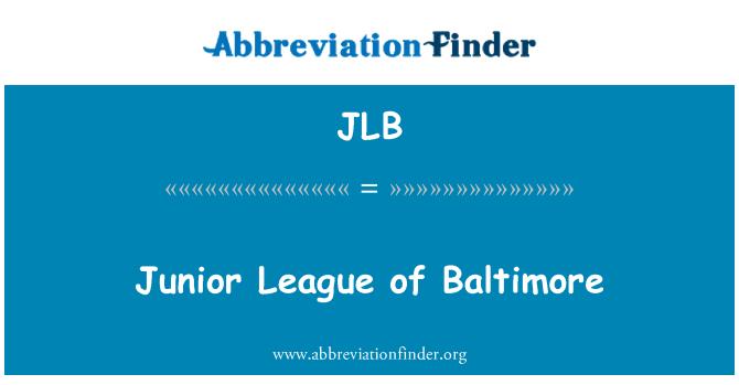 JLB: Junior League of Baltimore