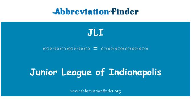 JLI: Junior League of Indianapolis