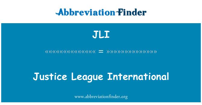 JLI: Justice League International