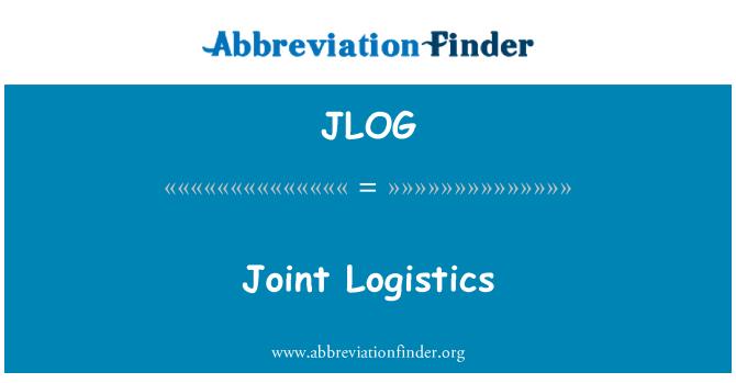 JLOG: Joint Logistics