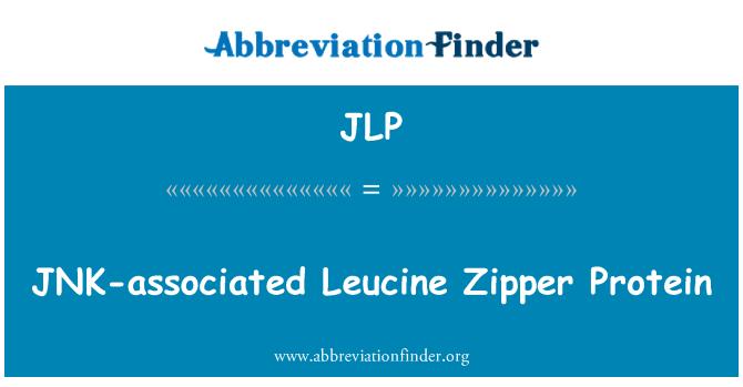 JLP: JNK-associated Leucine Zipper Protein