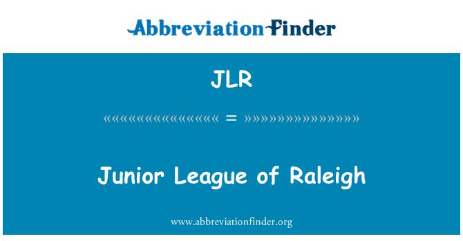 JLR: Junior League of Raleigh