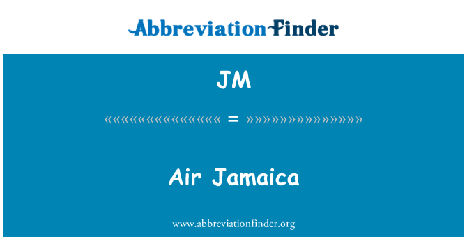 JM: Air Jamaica