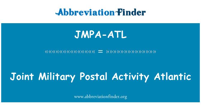 JMPA-ATL: Joint Military Postal Activity Atlantic