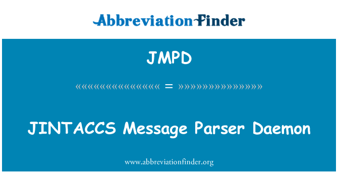 JMPD: JINTACCS mensaje Parser Daemon