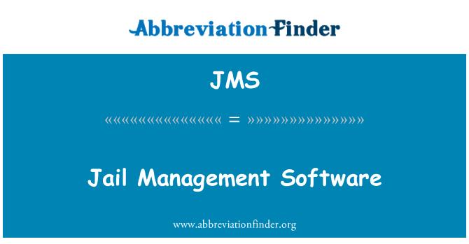 JMS: Jail Management Software