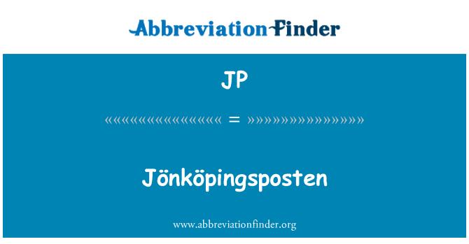 JP: Jönköpingsposten