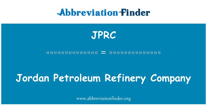 JPRC: Jordan rafineerimistehase kütusefirma