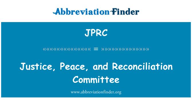 JPRC: Õigus, rahu ja leppimise komitee