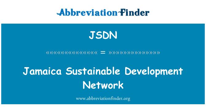 JSDN: Jamaica Sustainable Development Network