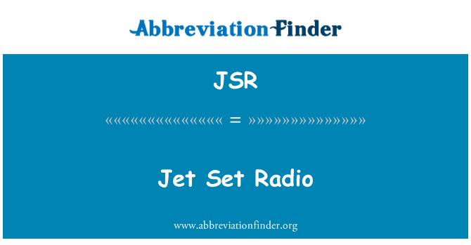 JSR: Jet Set Radio
