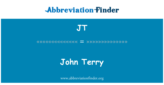 JT: John Terry