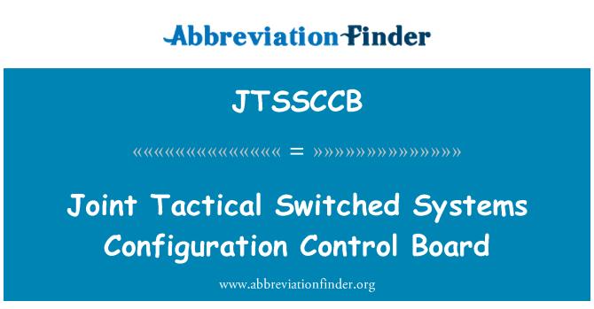 JTSSCCB: Sistem Yapılandırma Denetim Kurulu ortak taktik değiştirdi