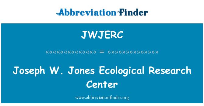 JWJERC: Joseph W. Jones Ecological Research Center