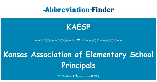 KAESP: Kansas Association of Elementary School Principals