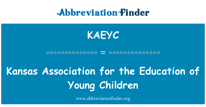 KAEYC: Kansas Association for the Education of Young Children