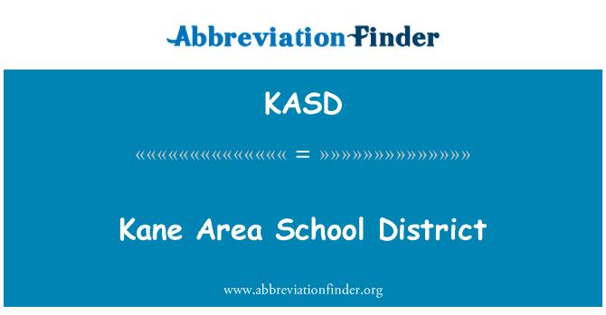 KASD: Distrito Escolar del área de Kane