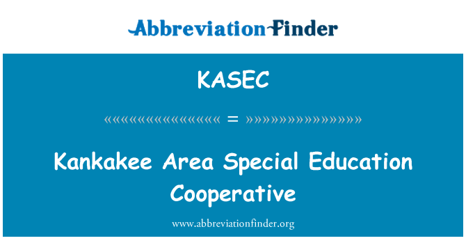 KASEC: Kankakee Area Special Education Cooperative