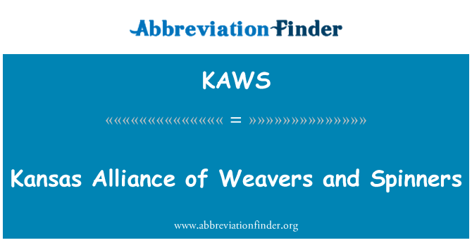 KAWS: Kansas Alliance of Weavers and Spinners