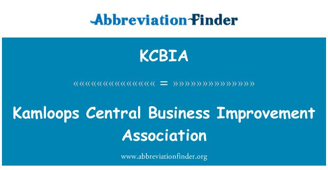 KCBIA: Kamloops Central Business Improvement Association