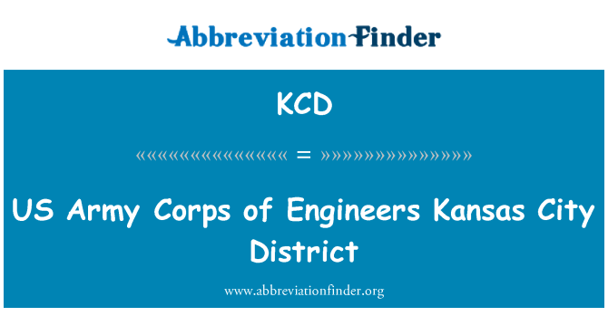 KCD: US Army Corps of Engineers Kansas City District