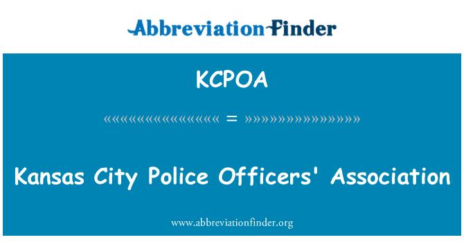 KCPOA: Kansas City Police Officers' Association