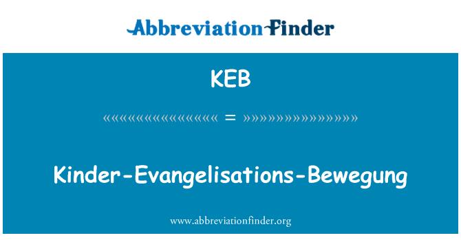 KEB: Kinder-Evangelisations-Bewegung
