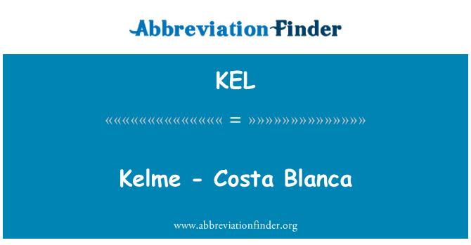 KEL: Kelme - Costa Blanca