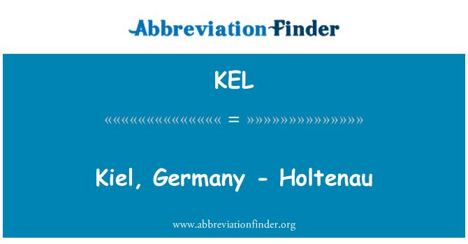 KEL: Kiel, Germany - Holtenau