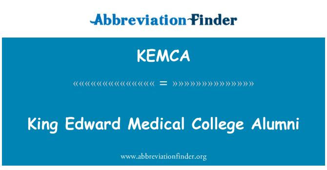 KEMCA: King Edward Medical College Alumni
