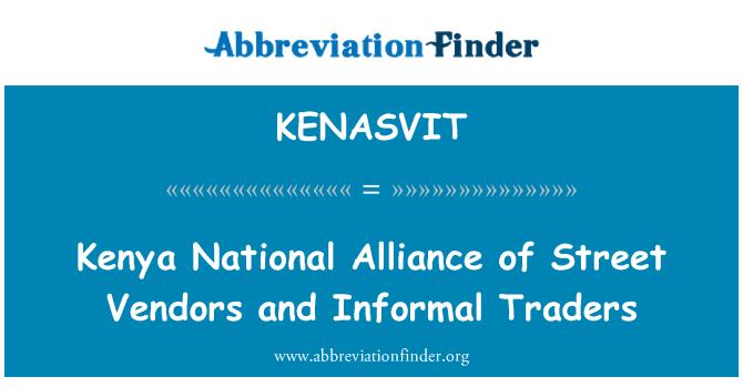 KENASVIT: Kenya National Alliance of Street Vendors and Informal Traders