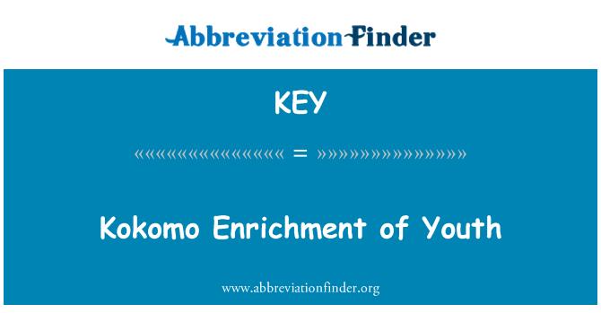 KEY: Kokomo Enrichment of Youth