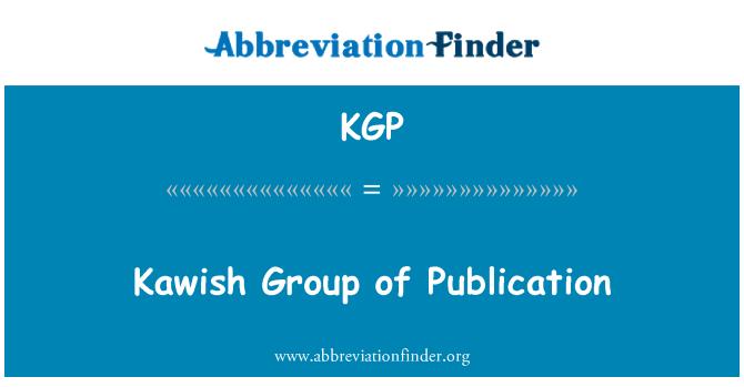 KGP: Kawish Group of Publication