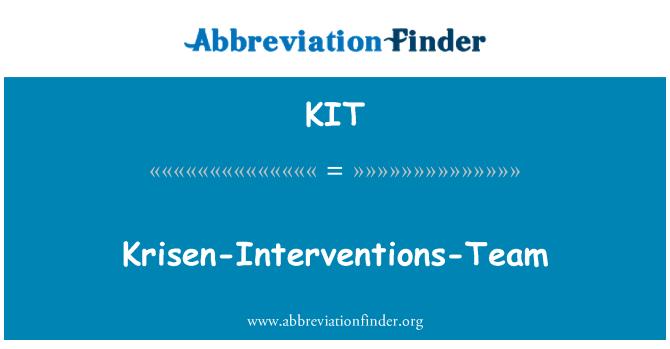 KIT: Krisen-Interventions-Team