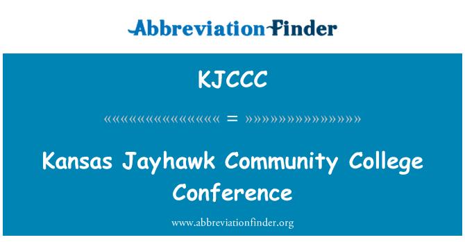 KJCCC: Kansas Jayhawk Community College Conference
