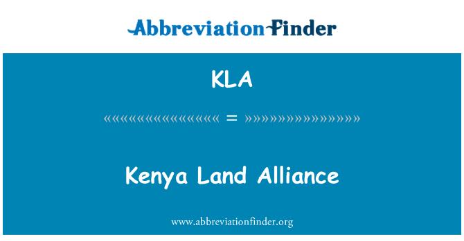 KLA: Kenya Land Alliance